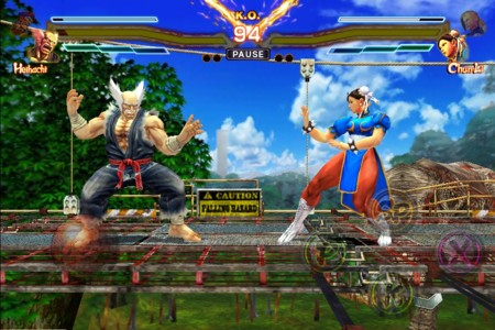 Street Fighter X Tekken Mobile Ipad Screenshot