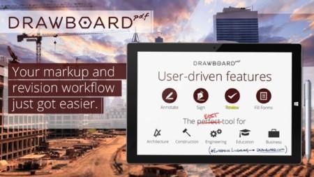 ¿Tienes un tablet con Windows? Entonces deberías aprovechar esta rebaja del 50% en Drawboard PDF