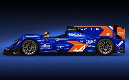 Nuevo aspecto para el Alpine A450 en 2014