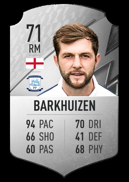 Barkhuizen FIFA 22