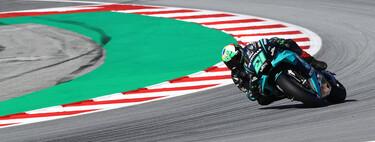 Franco Morbidelli consigue su primera pole position en MotoGP y Valentino Rossi regresa a la primera fila