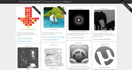 BitTorrent Torque, toda la tecnología de BitTorrent directamente en el navegador