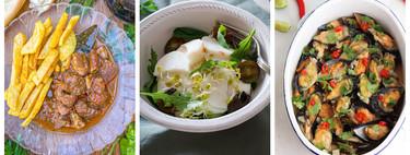 Recetas frescas y postres deliciosos en el paseo por la gastronomía de la red