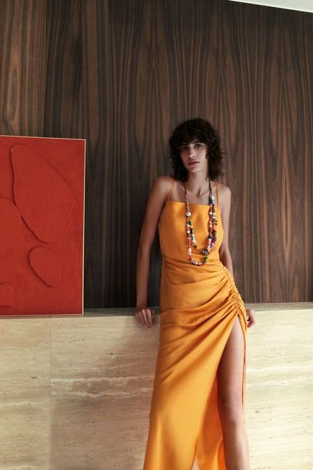 Zara Vestido Clon Jacquemus