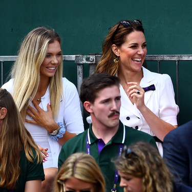 Kate Middleton luce el vestido de tenis más ladylike en el torneo de Wimbledon 2019