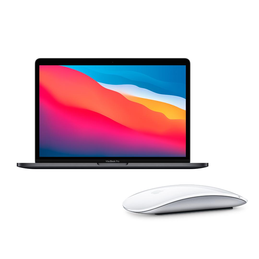 MacBook Pro M1 + ratón Bluetooth Magic Mouse 2 de regalo