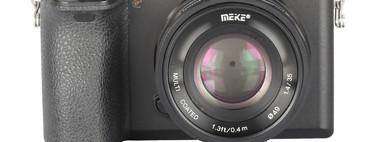 Meike 35mm F1.4 MF: Un nuevo objetivo económico y luminoso para sistemas APS-C