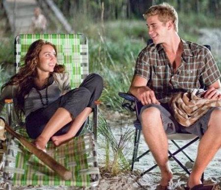 Miley Cyrus se hace mayor en su película 'The Last Song'