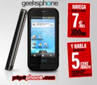 Geeksphone se alía con Pepephone y regalan internet en el móvil