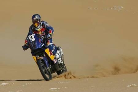 Rally de los Faraones 2009, cuarta etapa