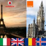 ¿Qué operador ofrece las tarifas de roaming más baratas para viajar a Europa?