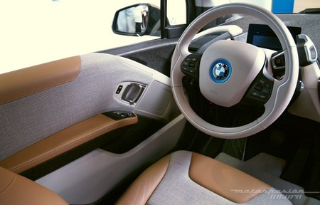 BMW i3 Madrid interior 22