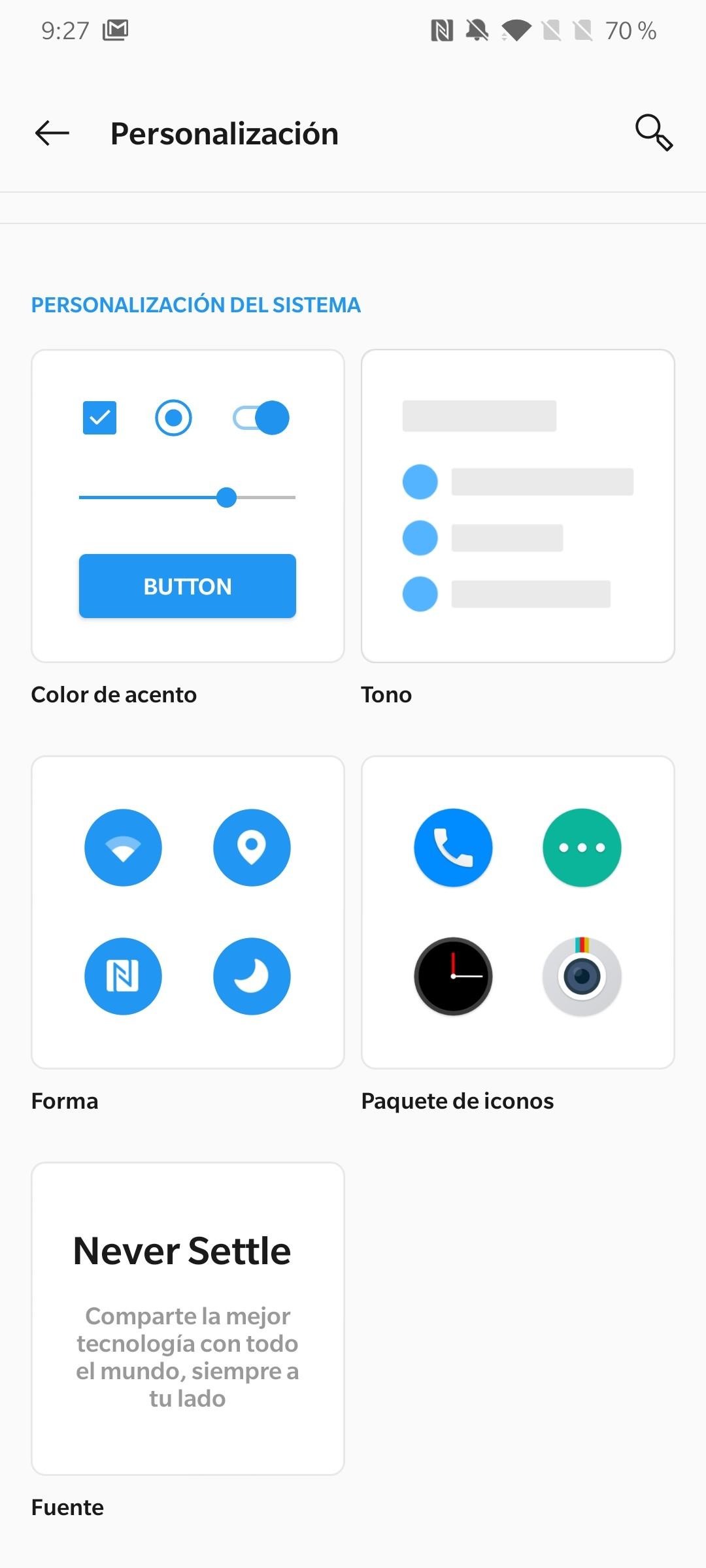 Foto de Android 10 en el OnePlus 7T (13/15)