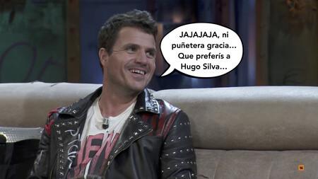 'La Resistencia': Dani Martín contra Broncano por mover su entrevista en favor de Hugo Silva y le lanza un dardito a su colega Miguel Bosé