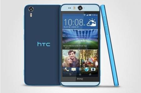 Así es el nuevo HTC Desire Eye pero ¿cuál es el mejor teléfono actual para hacerse selfies?