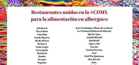 Restaurantes en la CDMX donde puedes donar ingredientes para brigadistas y damnificados
