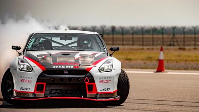 El Nissan GT-R Nismo bate un nuevo récord Guinness al drift a mayor velocidad