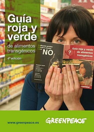 Greenpeace actualiza sus guías de productos transgénicos