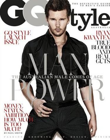 Ryan Kwanten está para dejar que te muerda y te chupe la sangre en GQ Style