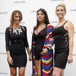 Hablemos de los modelazos de Daniella Semaan, Antonella Roccuzzo y Sofía Balbí en Barcelona
