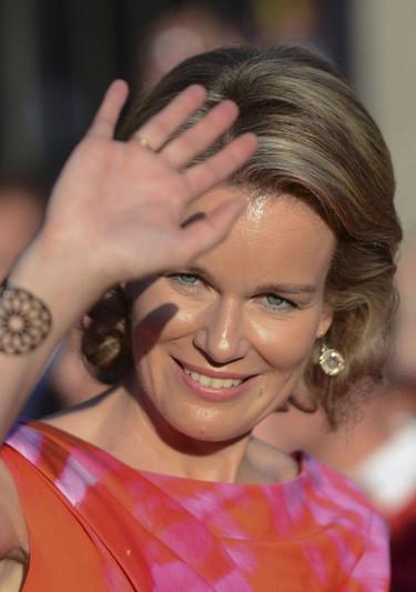 La reina Matilde, la nueva cara de la monarquía belga
