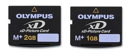 Nuevas tarjetas flash xD Type M+ de Olympus