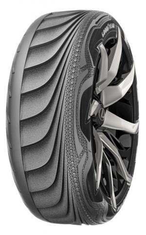 Este neumático de GoodYear es capaz de recargar él solo la batería de tu coche
