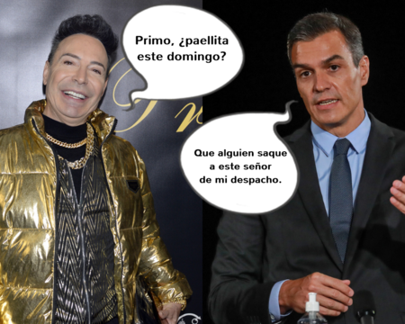 Pedro Sánchez y el Maestro Joao, cada día más cerca (o eso es lo que cuenta uno de ellos)