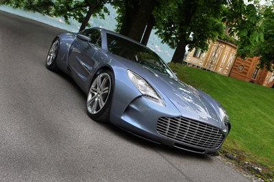 Aston Martin One-77, nueva galería de imágenes oficiales