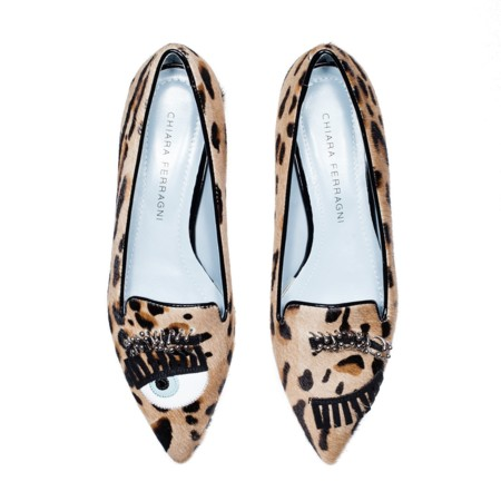 Chiara Ferragni Shoes Con Piercing