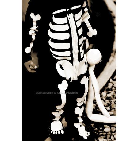 Disfraz Halloween Facil Barato Esqueleto