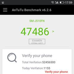 Foto 6 de 14 de la galería benchmarks-weimei-weplus-2 en Xataka Android