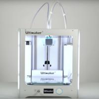 La Ultimaker 3 es una impresora 3D que permite usar dos materiales simultáneamente en nuestras creaciones