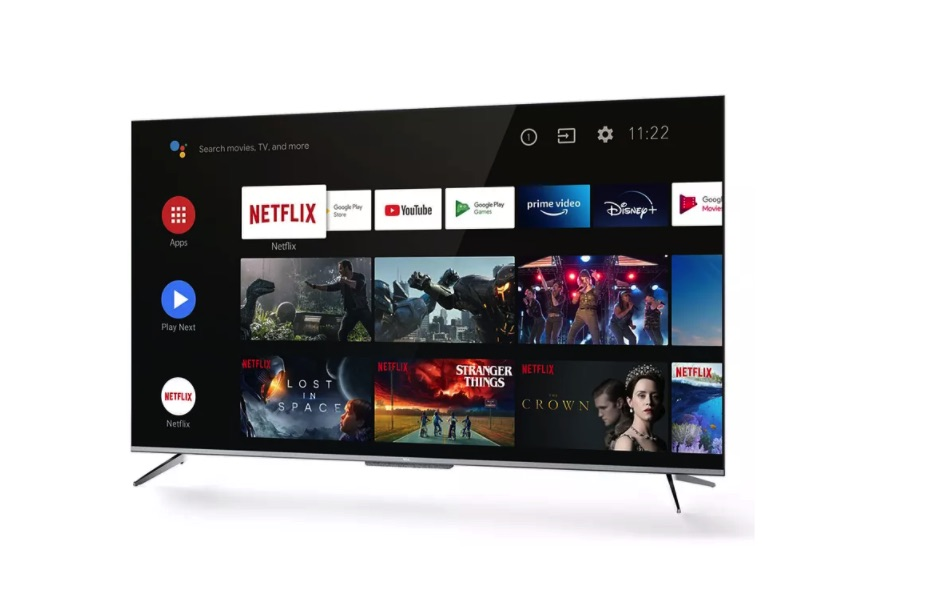 "TV LED 65"" - TCL 65P715, Android TV, 4K, UHD, Dolby Audio, Google Assistant Incorporado, Compatible con Alexa"