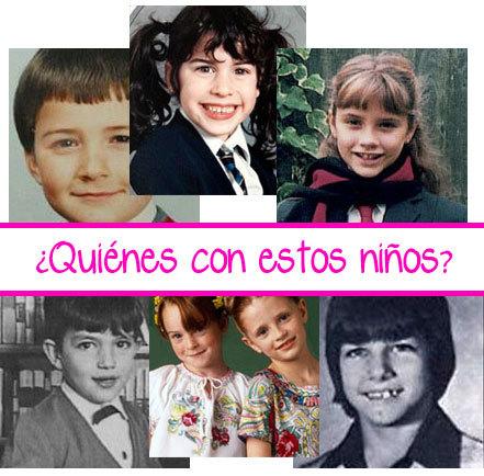 ¿Quiénes son estos niños?