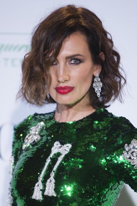 Nieves Álvarez y su Dolce & Gabbana se llevaron el protagonismo en la presentación de la exposición 'Manolo Blahnik: El arte del zapato'