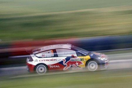 Petter Solberg y Citroën son los más rápidos del shakedown búlgaro