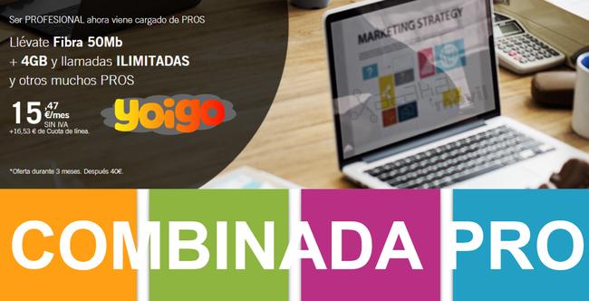 Nuevas Tarifas Combinada Pro De Yoigo En Julio De 2017