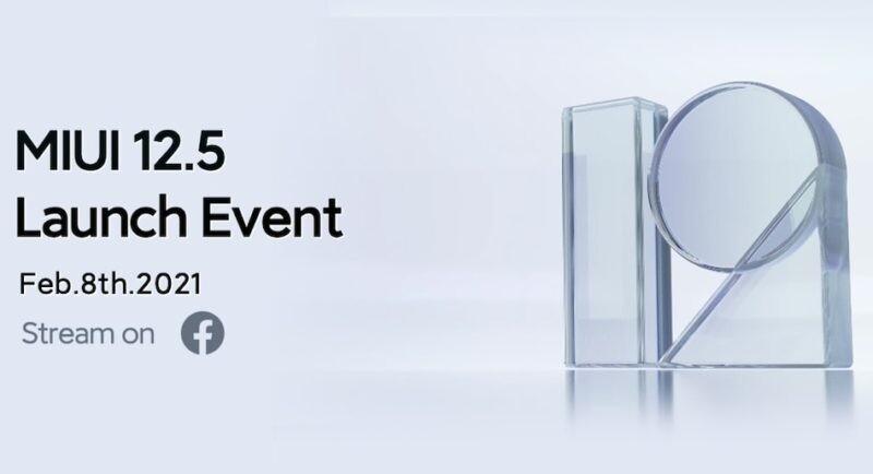 Xiaomi lanzará MIUI™ 12.5 el ocho de febrero y a nivel mundial