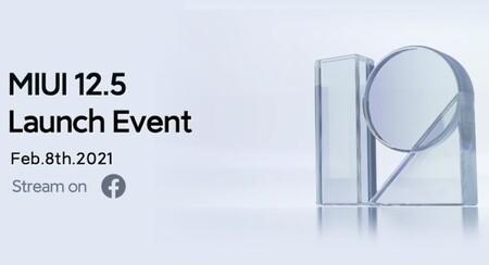 Xiaomi lanzará MIUI 12.5 el 8 de febrero y a nivel mundial