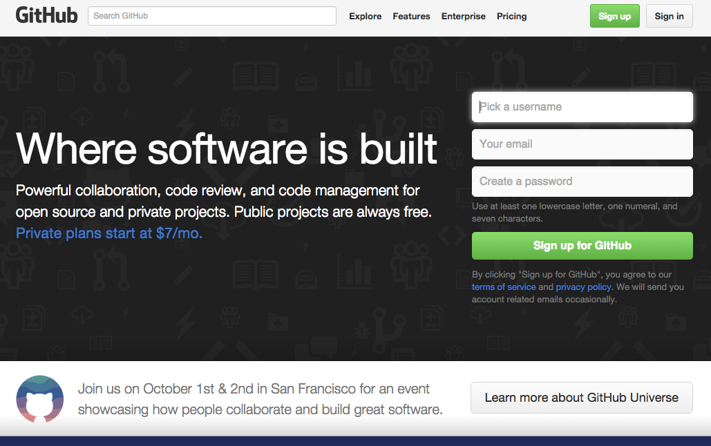 Un día el desarrollador despertó y descubrió que GitHub se había convertido en el centro de la programación