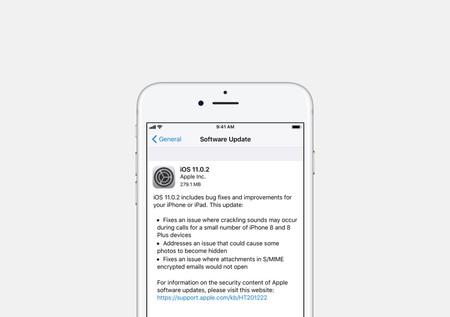 iOS 11.0.2 ya está disponible, corrige pequeños errores y mejora la experiencia de uso