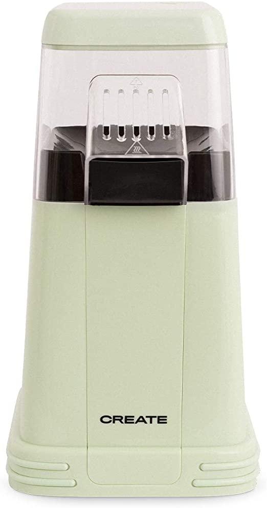 CREATE Popcorn Maker - Máquina Eléctrica de Palomitas de Maíz (Verde)