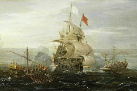 Corsarios Barco Frances