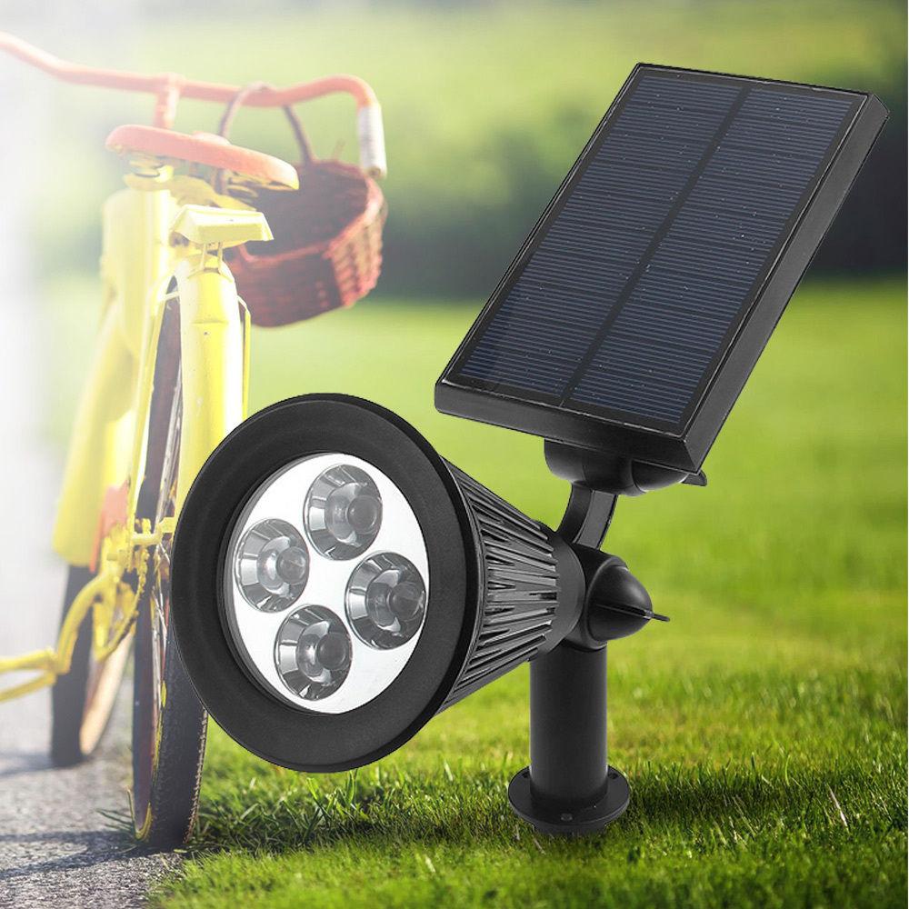 4 luces led para el jard n rebajadas en ebay por s lo 13 - Luces led para jardin ...