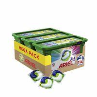 El pack 3 cajas Ariel 3 en 1 PODS Color con un total de 114 lavados está rebajado a 26,99 euros en Amazon