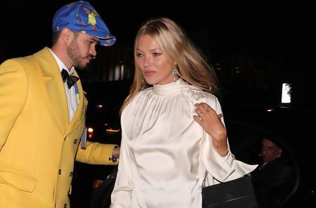 Kate Moss y Naomi Campbell se conviertan en las reinas de Londres en una fiesta para despedir la semana de la moda británica