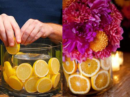 Lemon Vase Making