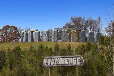 Foamhenge 5