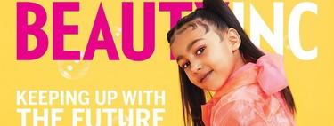 Con solo cinco años, la hija de Kim Kardashian protagoniza su primera portada en solitario